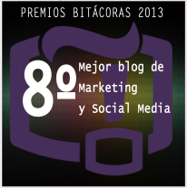 puesto 8 bitácoras marketing social media