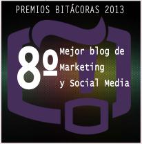 puesto 8 bitácoras marketing social media